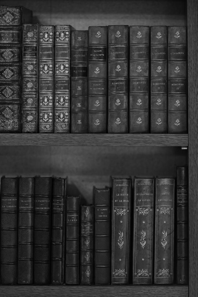 Thierry Depagne Biblioteca di Gabrielle Chanel, 2013 Fotografia Collezione Patrimonio di Chanel, Parigi © Thierry Depagne