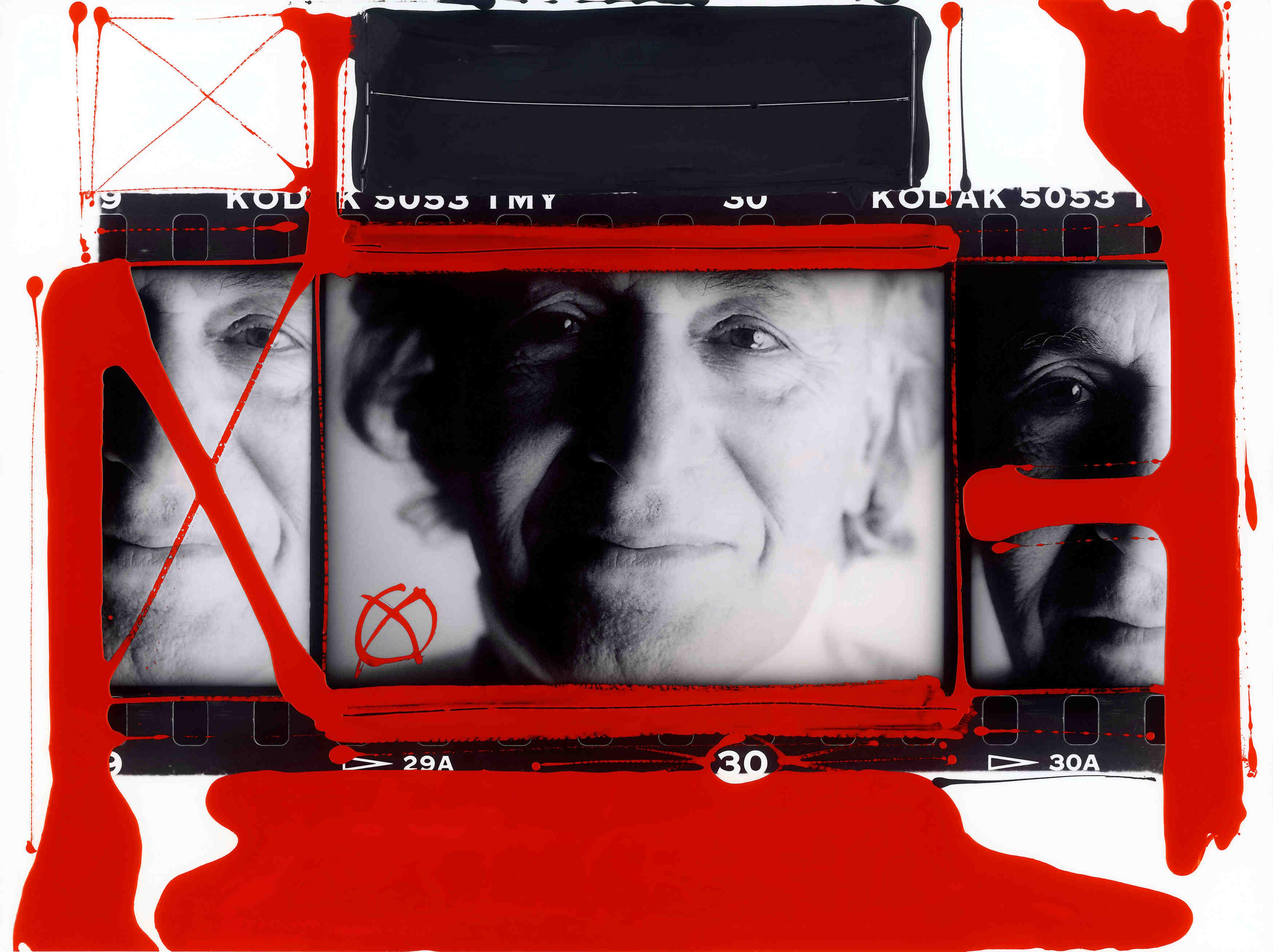 Autoritratto William Klein, Parigi 1998.  © William Klein