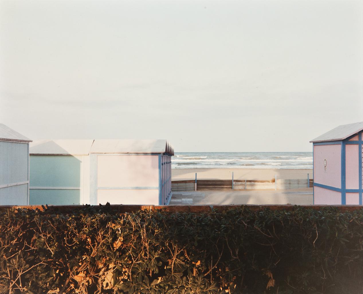 Luigi Ghirri, Riccione, 1984, da: Paesaggio italiano 1984, Collezione MAXXI
