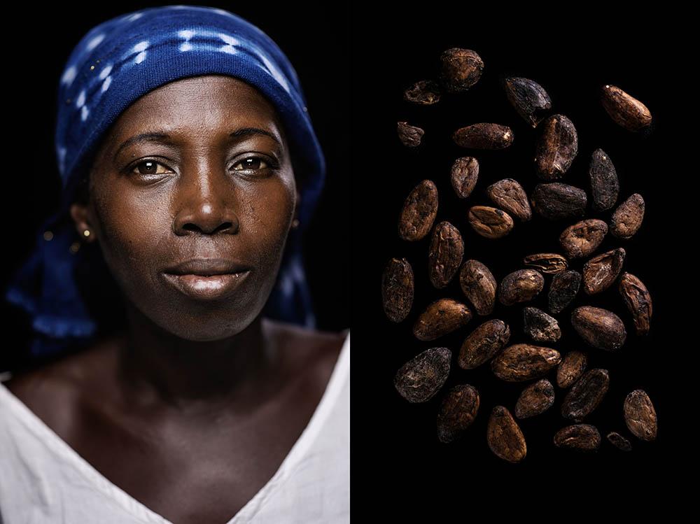 Antoinette Amenanne. 44 anni_semi del cacao