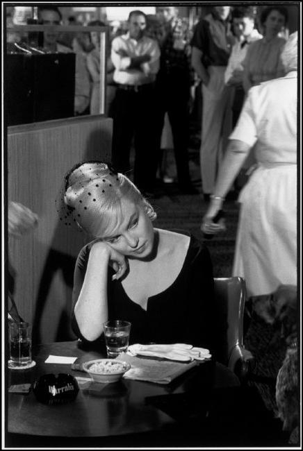 "Marilyn Monroe in ""The Misfits"". Nevada, USA, 1960  © Henri Cartier-Bresson / Magnum Photos"
