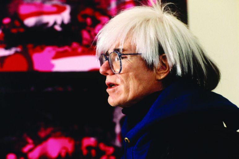 Andy Warhol, Fondazione Stelline, Milano 1987 © Maria Mulas