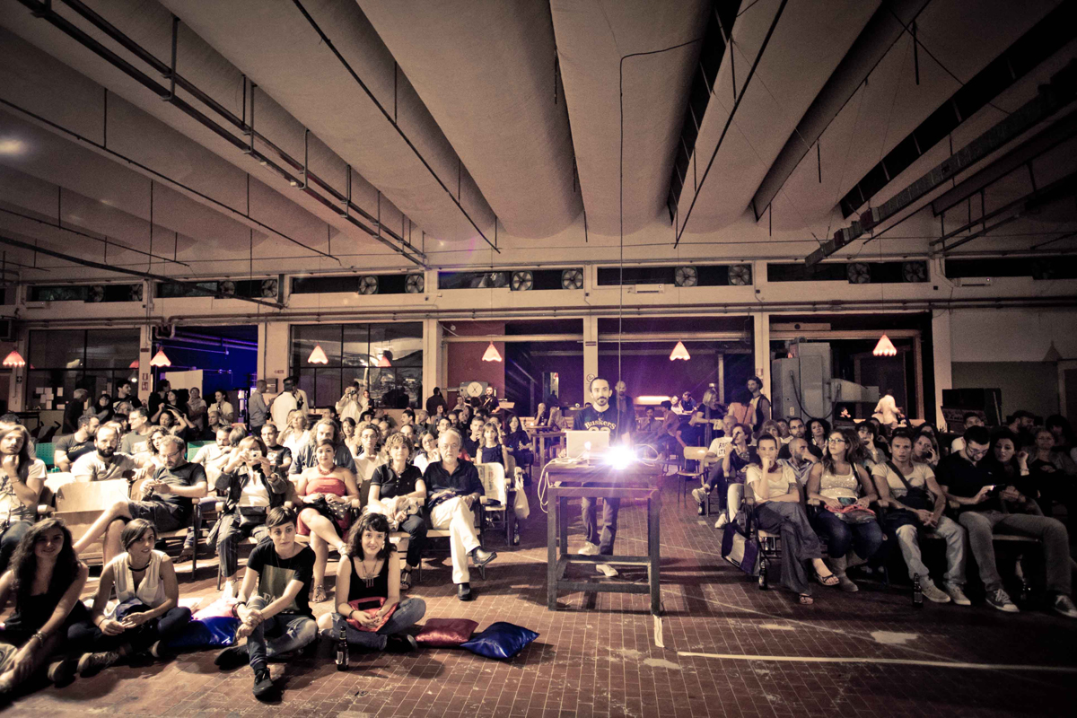 Bitume Photofest 2015, Slideluck @ Bitume Photofest. Fotografia: Andrea Laudisa