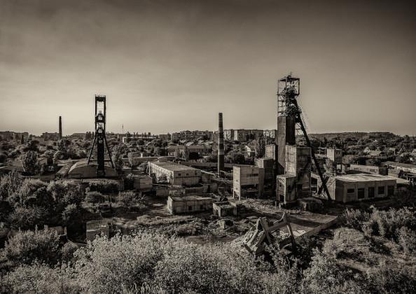 Miniera Komsomolets Gorlivka (Ukraine) - Foto Gianmatteo Cirillo