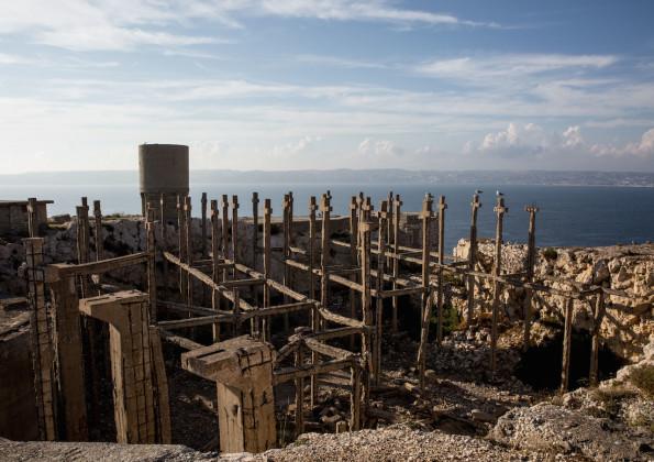 Falso cimitero, Isola di Ratonneau (Francia) - Foto: Leonardo Crociani
