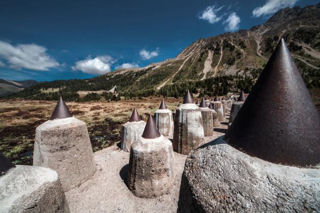 Sbarramento di Pian dei Morti - Passo Resia (Italia) - Foto: Marco Gioia