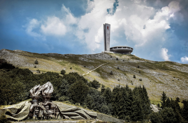 Monumento di Buzludzha (Bulgaria) - Foto Kamren Barlow