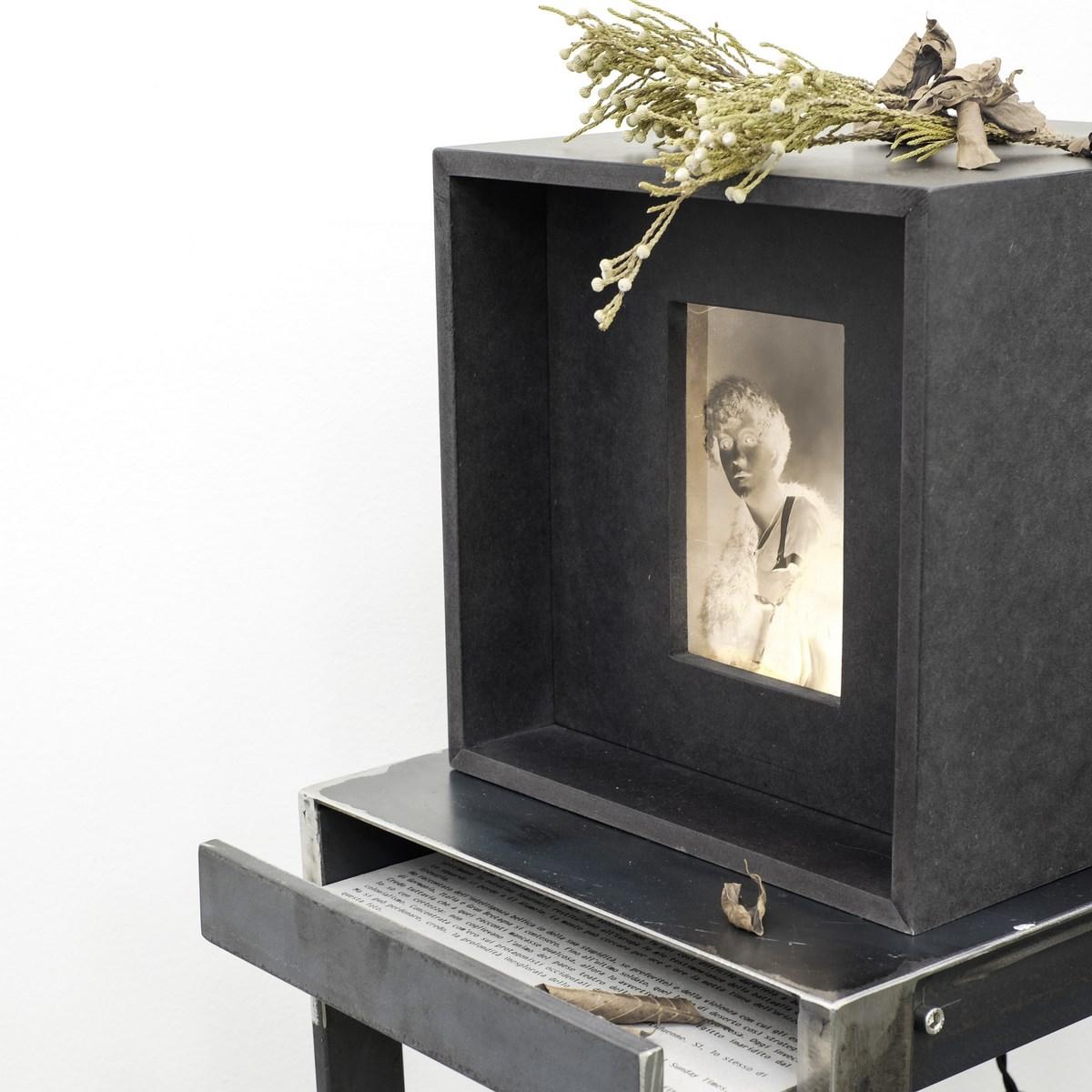 Alessandra Calò, Secret Garden, particolare installazione