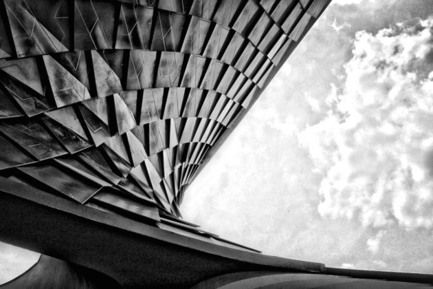 L'architettura, serie fotografica Nicola Ciriali Istituto tecnico Einaudi, Ferrara