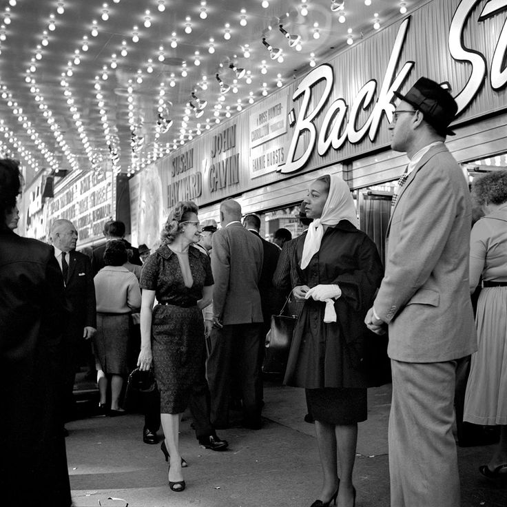 At the Balaban & Katz United Artists Theater, Chicago, IL, 1961