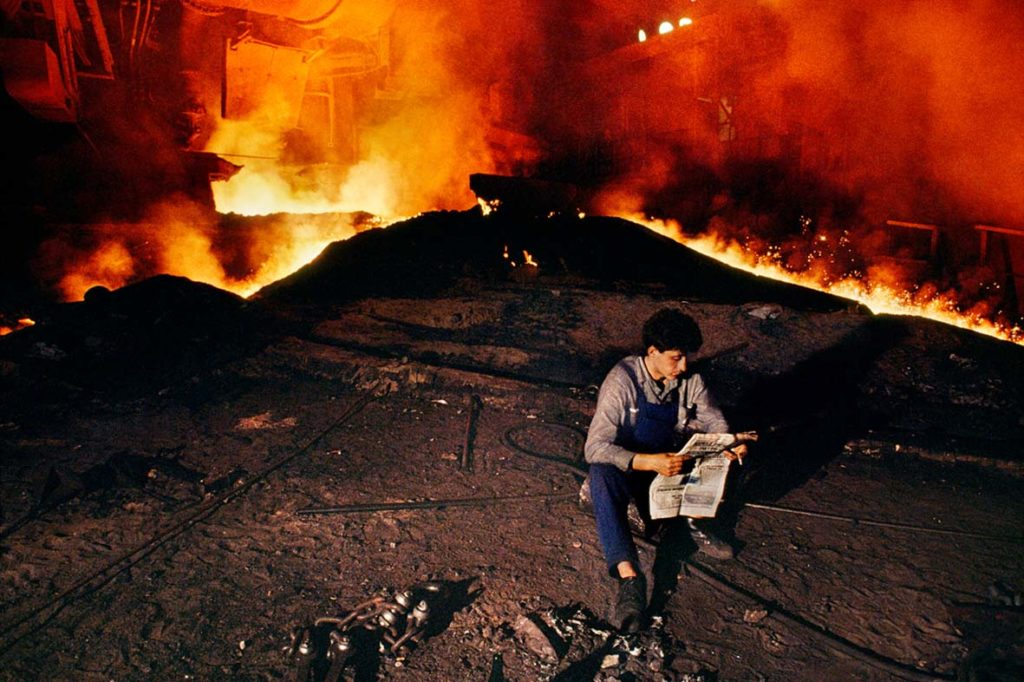 Steve McCurry Smerderevo Serbia 1989