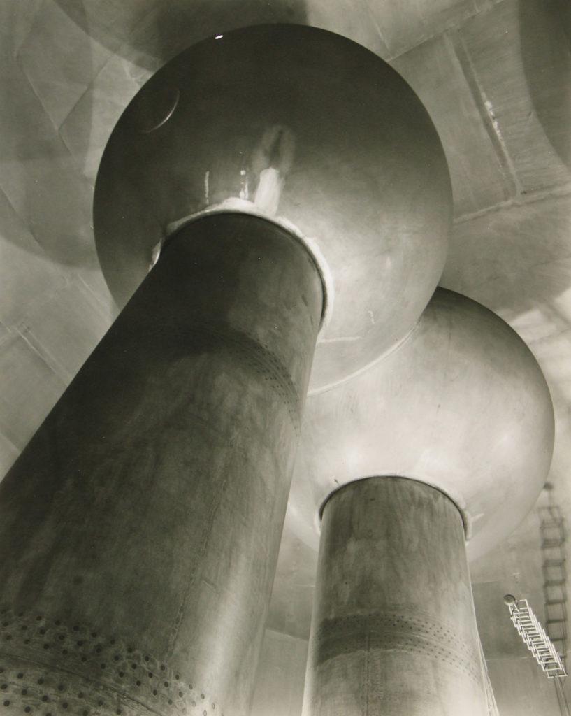 van de graaff generator cambridge MA 1958 Berenice Abbott