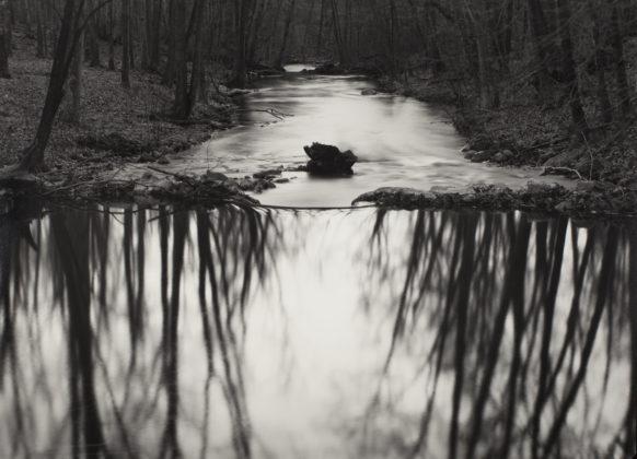 Paul Caponigro Reflecting Stream, Redding, CT, 1969 stampa alla gelatina d'argento 31 x 43 cm © Paul Caponigro