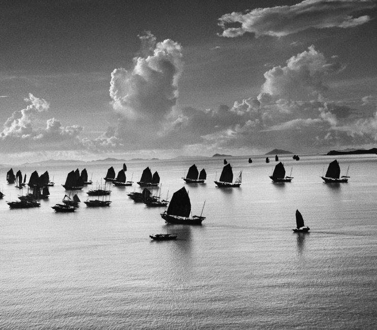 erner Bischof, Harbour of Kowloon, Hong Kong, 1952 © Werner Bischof / Magnum Photos