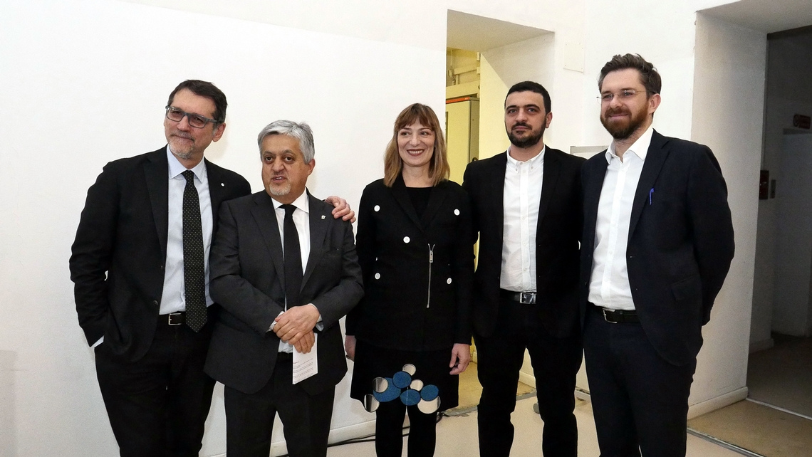 la presentazione alla stampa dell'edizione 2018 di Artefiera