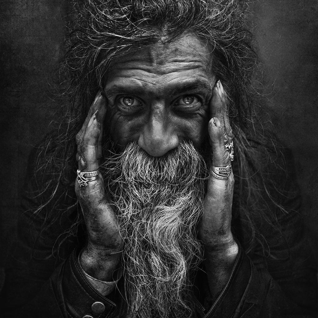 Lee Jeffries Homeless