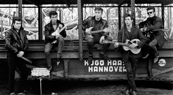 Beatles ritratti da Astrid Kirchherr mostra la spezia