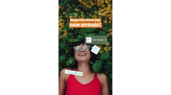 Fare shopping nelle Stories di Instagram