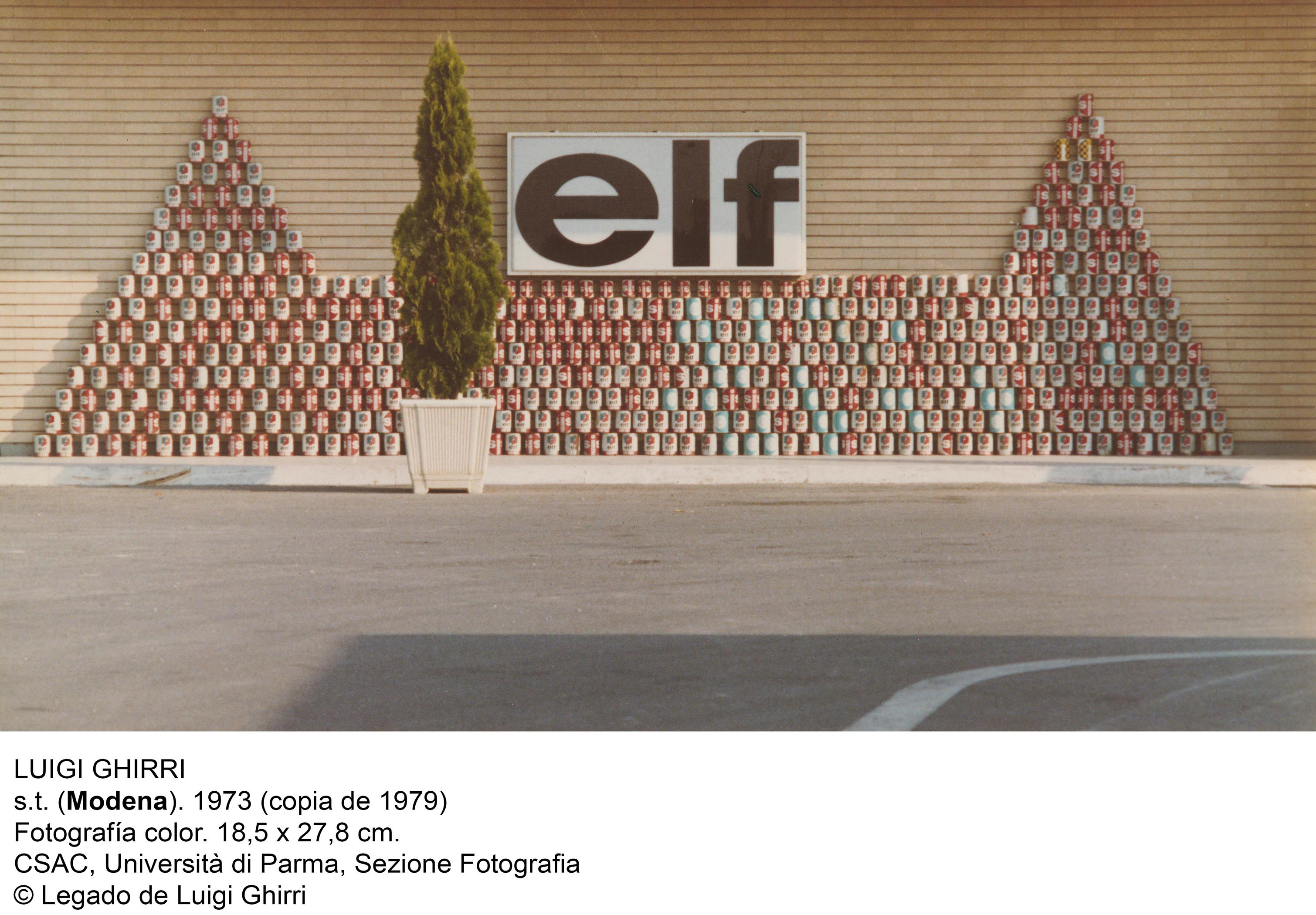 Luigi Ghirri in mostra a Madrid