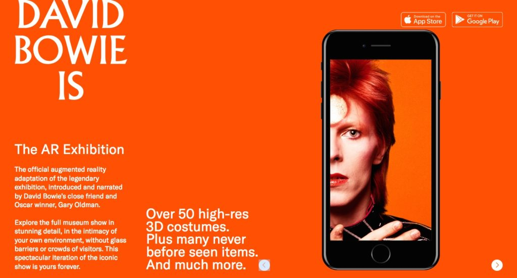 david bowie is app