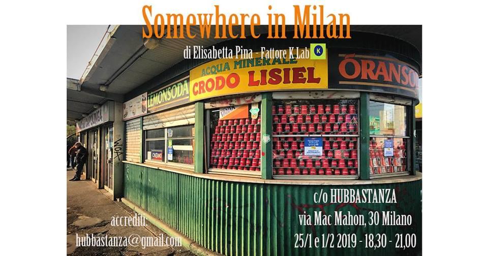Somewhere in Milan, Elisabetta Pina