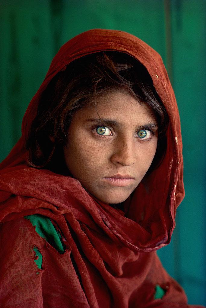 steve mccurry ragazza occhi verdi mostra torino