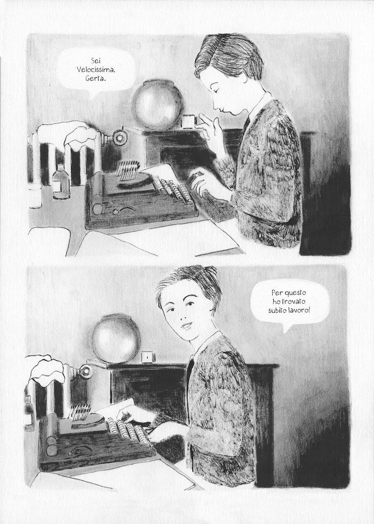 gerda taro graphic novel contrasto edizioni