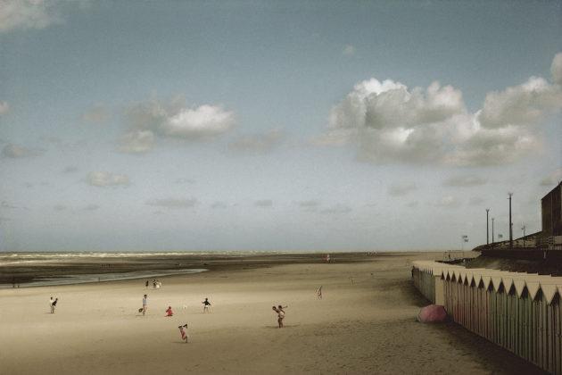 arles photographie 2019 Harry Gruyaert foto spiaggia