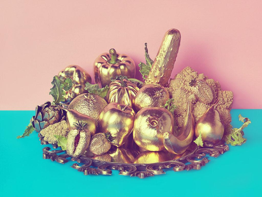 monica silva mostra Fondazione Maimeri milano foto dal titolo Golden Fruit