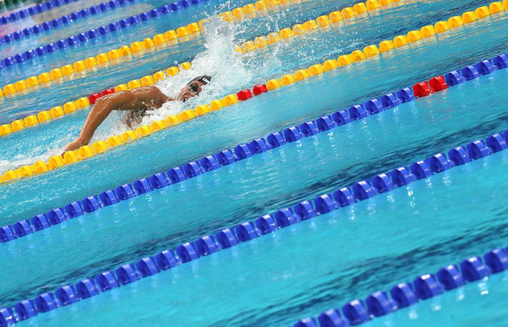 Massimo Lovati mostra a moneglia_ foto paltrinieri nuoto