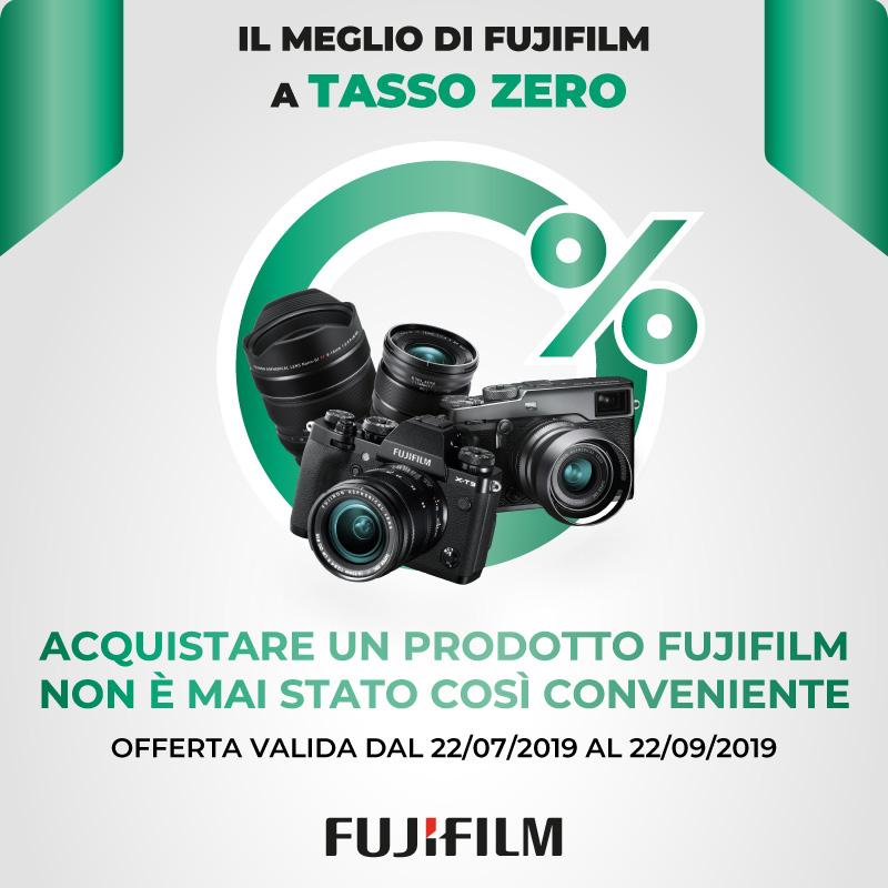 promozioni fujifilm finanziamento tasso zero