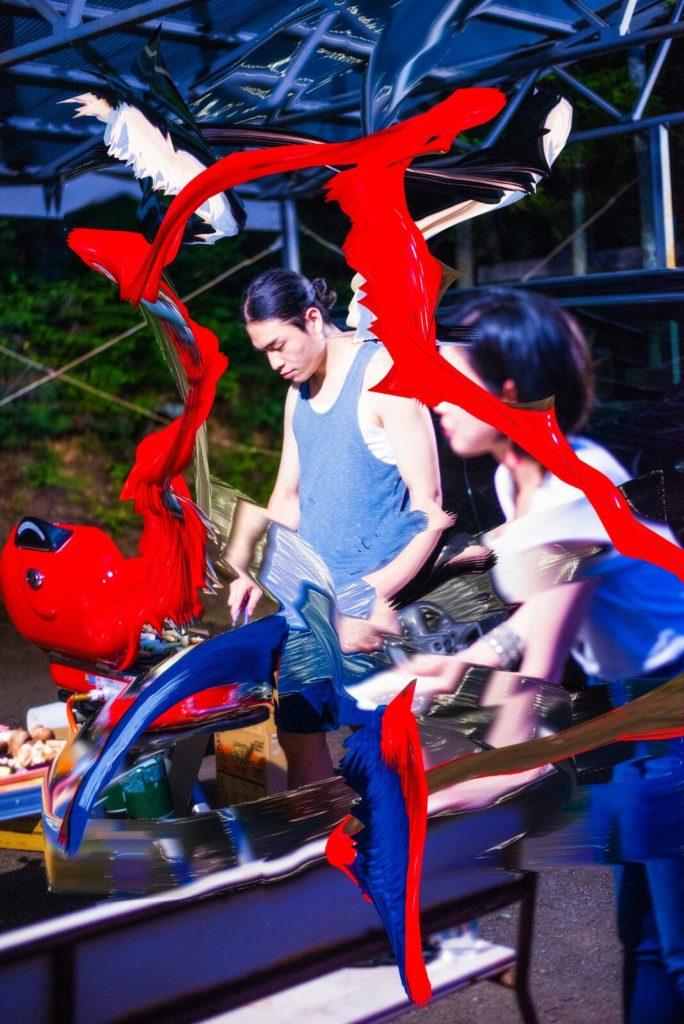 Kenta Cobayashi mostra nonostante marras milano ritratto ragazzi