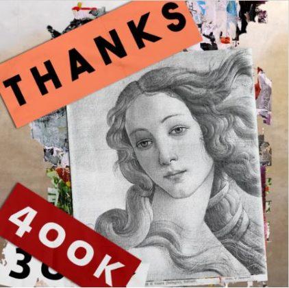 uffizi musei 400k instagram
