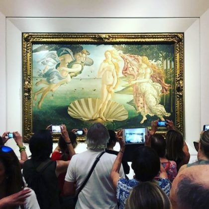 uffizi musei 400k instagram gran turismo