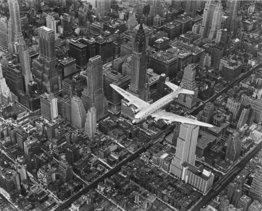 Bourke-White aereo sorvola new york