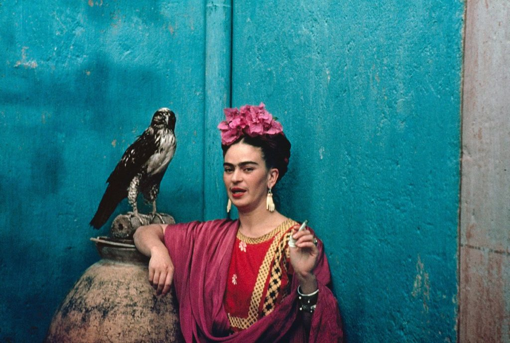 Frida Khalo mostra Nickolas Muray