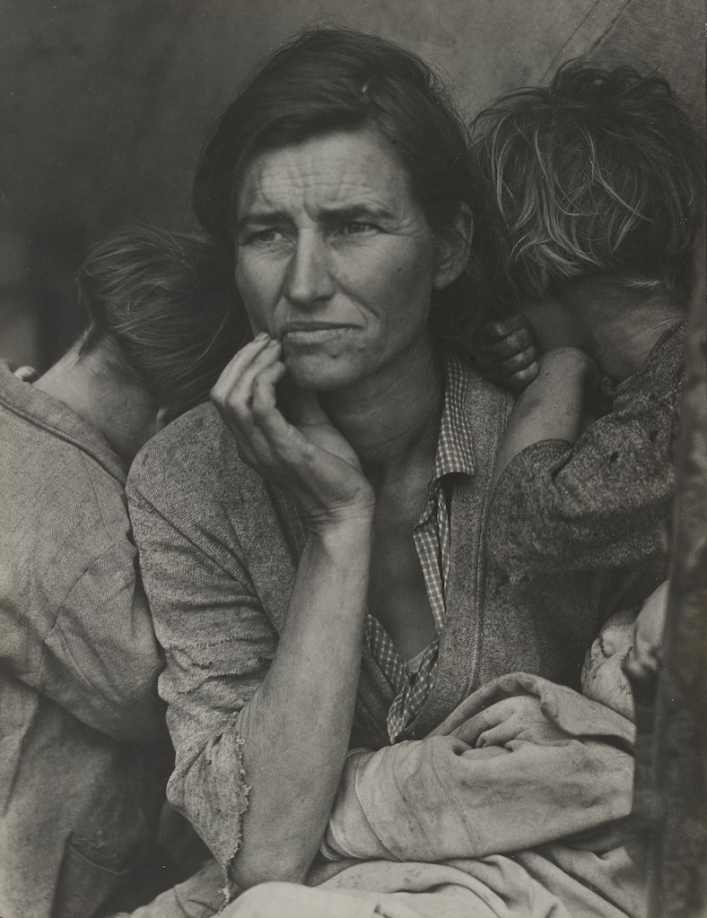 Dorothea Lange Migrant Mother moma new york