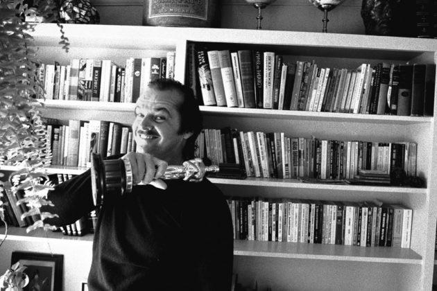 Mostra Douglas Kirkland Mestre Jack Nicholson at home 1975