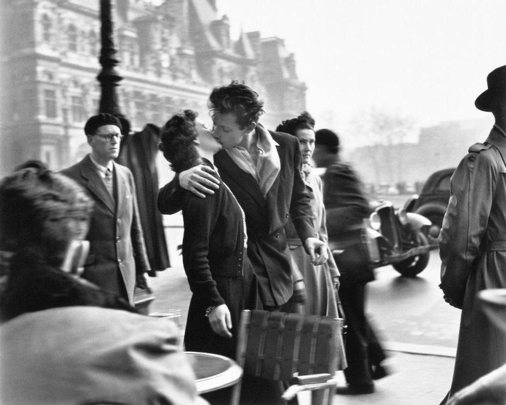 Robert Doisneau mostra bologna Le baiser