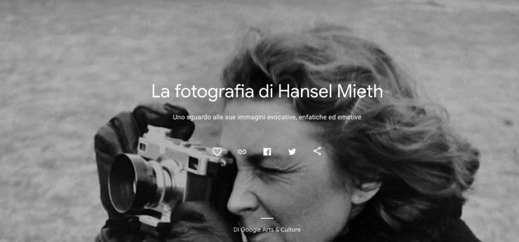 musei online fotografia hansel mieth
