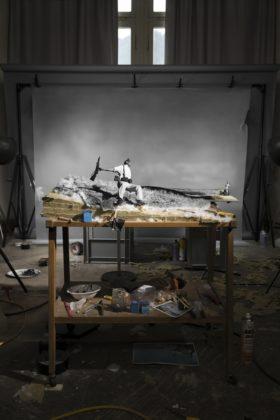 Biennale della Fotografia a Mannheim 2020 Cortis&Sonderegger_Death of a Loyalist Militiaman
