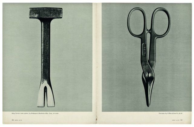 Biennale della Fotografia a Mannheim 2020 Walker Evans _Beauties of the Common Tool_, Fortune, July 1955