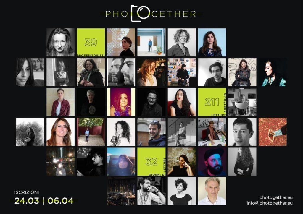 PHOTOGETHER letture portfolio beneficenza