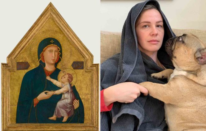madonna con bambino Twitter Getty Museum
