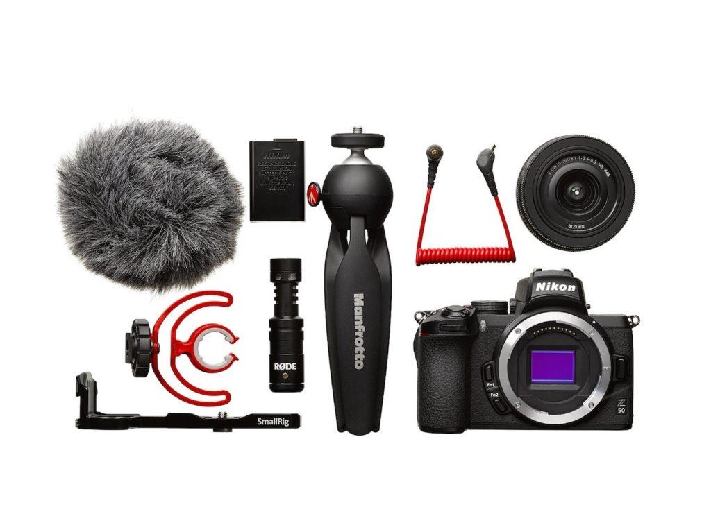 Nikon Z50 kit vlogger