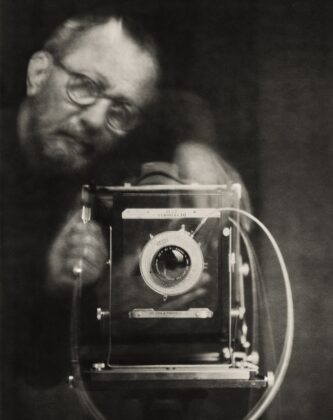 Paolo Roversi mostra mar ravenna self portrait