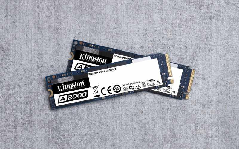 Kingston prodotti fotografia A2000