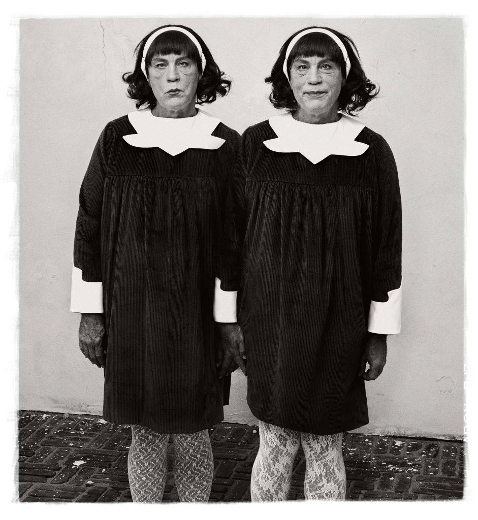 sandro miller Diane Arbus Identical Twins