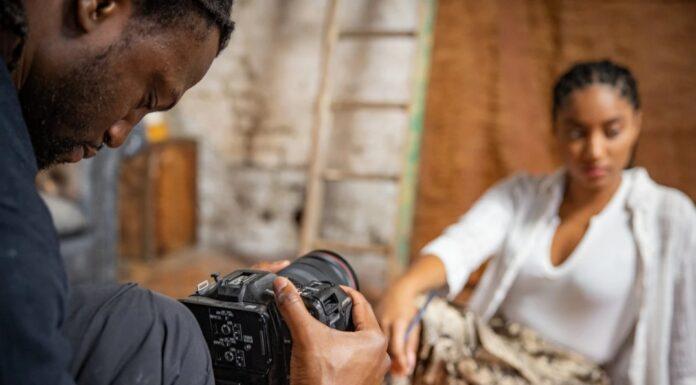 Jolade Olusanya riprese Canon EOS C70