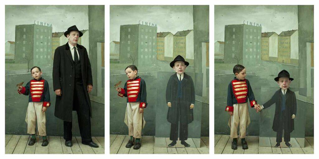 paolo ventura Homage da Saul Steinberg 2014